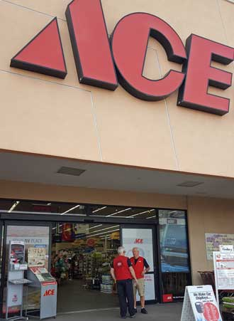 "Ace systems are ""down"", no sales of any kind."