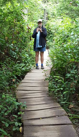 Cape Flattery Trail board walk