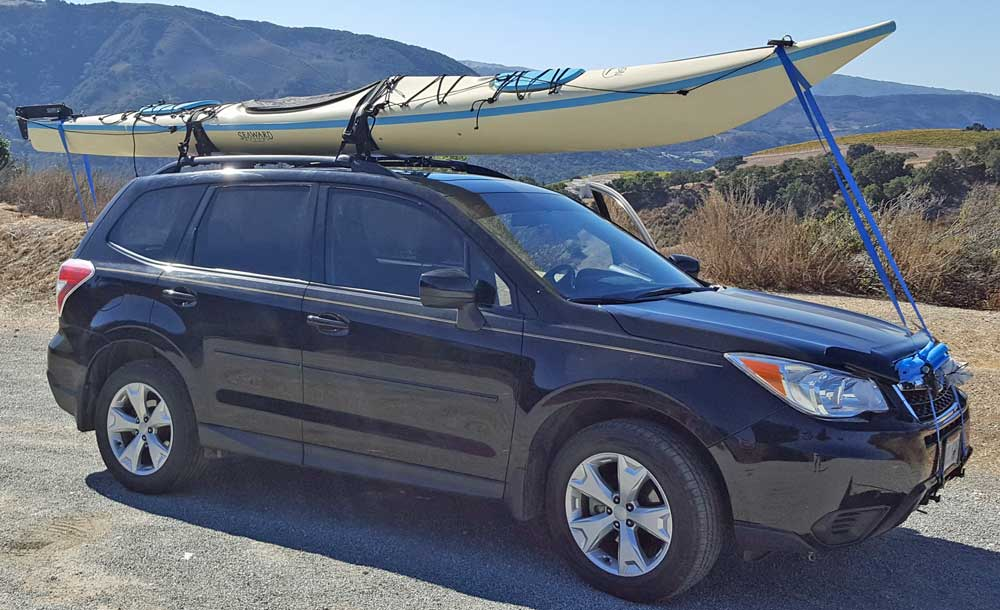 We find a beautiful Seaward Vision, single kayak