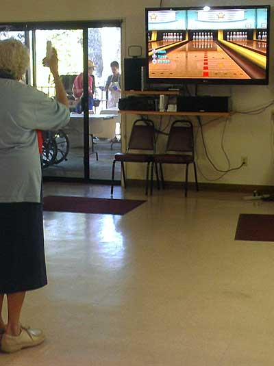 Wii bowling was a popular tourament