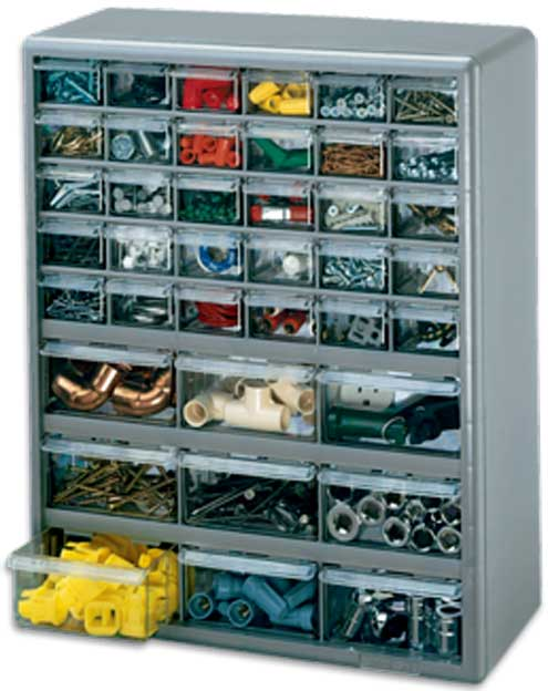 The Stack-On 39 drawer organizer