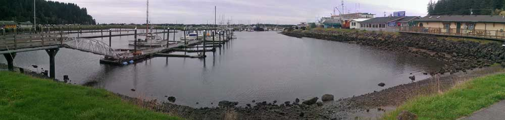 Salmon Harbor in Winchester Bay