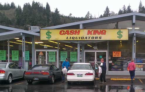 Cash King in Reedsport