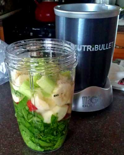 The first use of the NutriBullet