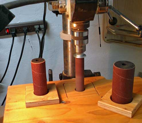 Spindle sander using my drill press