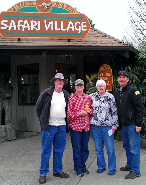Fred and Rita invite us to visit Wildlife Safari