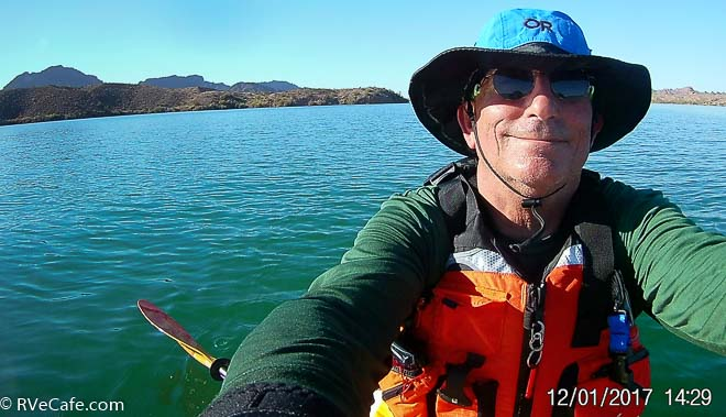 Paddling to California and back