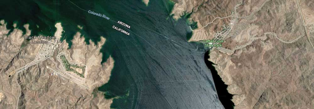 Satellite view of Cattail Cove