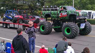 Biggest wheeled vehicle in the parade