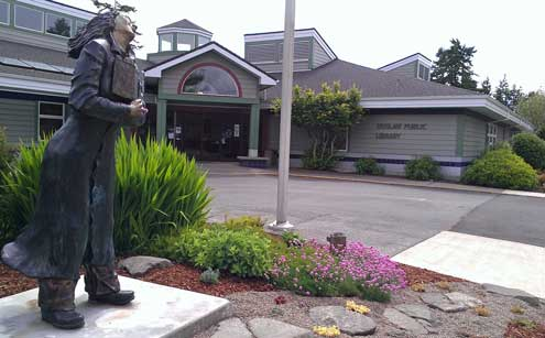 Siuslaw Public Library in Florence for Internet access