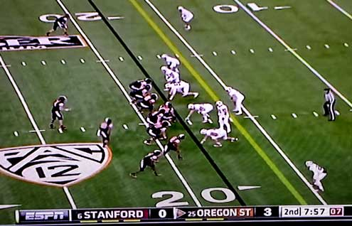 Oregon State Beavers struggling with Stanford Cardinals