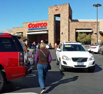 "Las Vegas Costco, Behind: Golden Nugget ""Oversize Vehicle"" parking, Laughlin, Nevada"