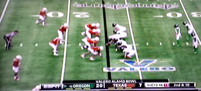 Oregon Ducks win the Alamo Bowl on THEIR turf.