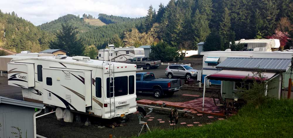 Spring, 2015, we are back in Sutherlin