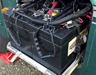 Interstate standard deep cycle battery