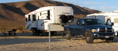 Campsite at Fort Irwin
