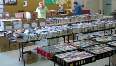 A wonderful book sale/fund raiser