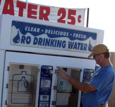 Drinking water when in Arizona