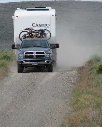 Can't be afraid of gravel in eastern Oregon