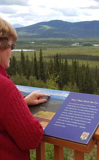 Our first stop in Alaska was at the Tetlin Wildlife Refuge