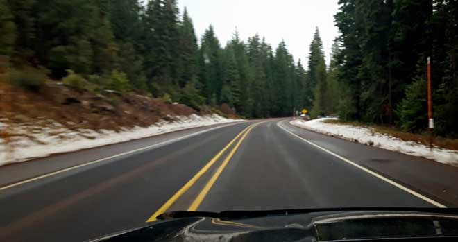 Cascade Mountains to Klamath Falls, Oregon