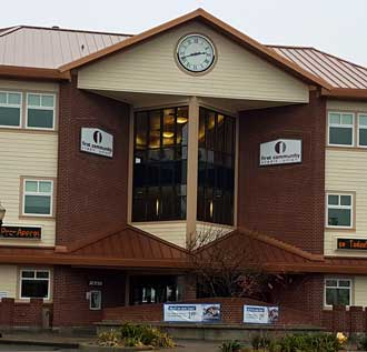 First Community Credit Union home office in Coquille