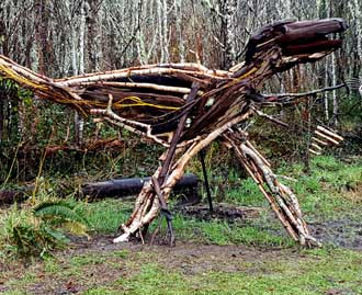Velocaraptor of sticks