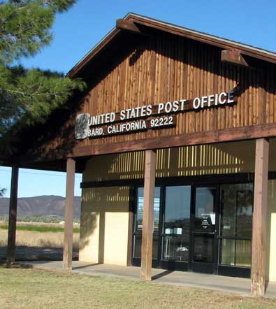 Bard, CA post office