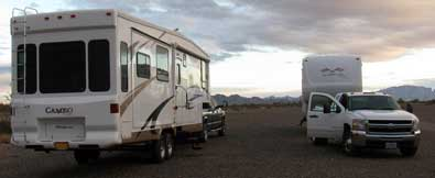Camped 5 miles south of Quartzsite