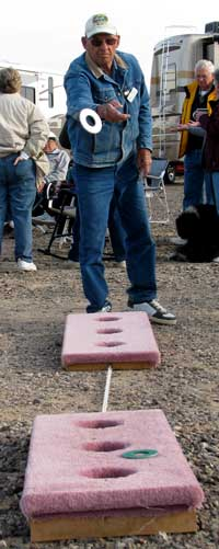 The washer toss game