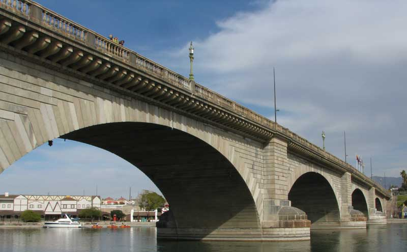 London Bridge in Lake Havasu, AZ