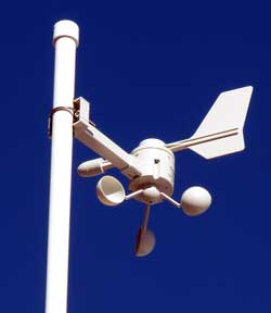 Anemometer for my new weather station
