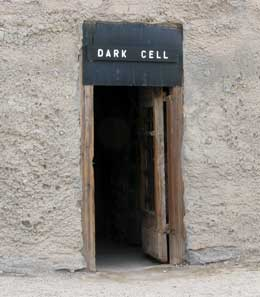 Entrance to the Dark Cell
