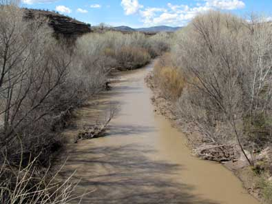 The Gila River supplies Safford with drinking water and irrigation water.