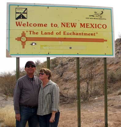 Welcome to New Mexico, our first visit to the state