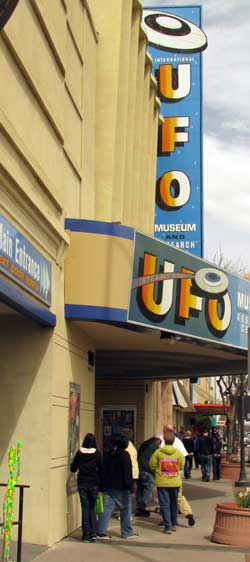 UFO Museum, part of the economy of Roswell