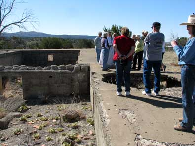We joined a walking tour group at Fort Bayard