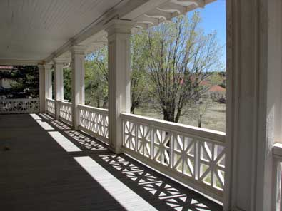 Porch and third story bedroom