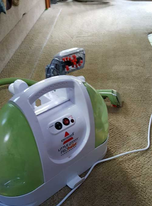 Time to clean carpets