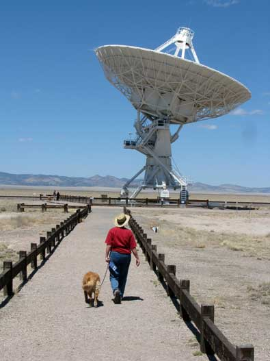 We visit the VLA between Datil and Socorro
