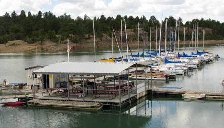 The Marina on Heron Lake at Heron Lake State Park