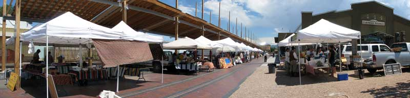 Santa Fe Farmer's Market on Tuesday and Saturday