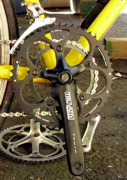 The new SRAM compact double crank set