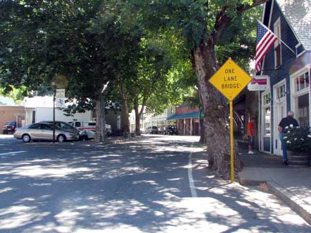 Main Street of Downieville