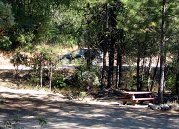 Site 10 in the Rocky Rest Campground
