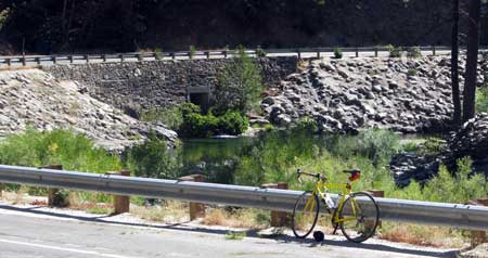 I'm riding next to the North Yuba River for most of the ascent to Bassetts