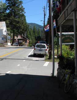 Sierra City, a small town 12 miles east of Downieville