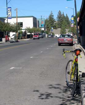 Portola in Plumas County, the largest of the cities on this ride