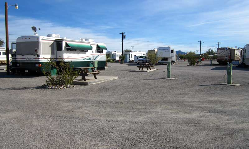Typical inexpensive RV park