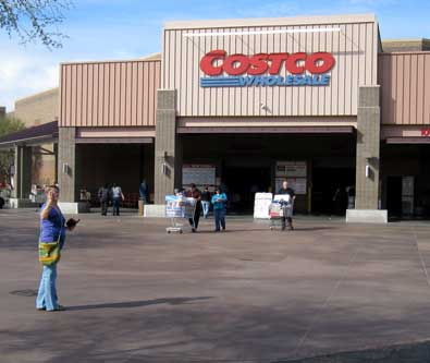 Costco was the next stop